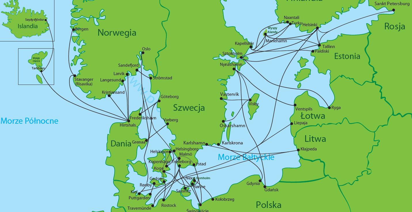 Bilety do Skandynawii