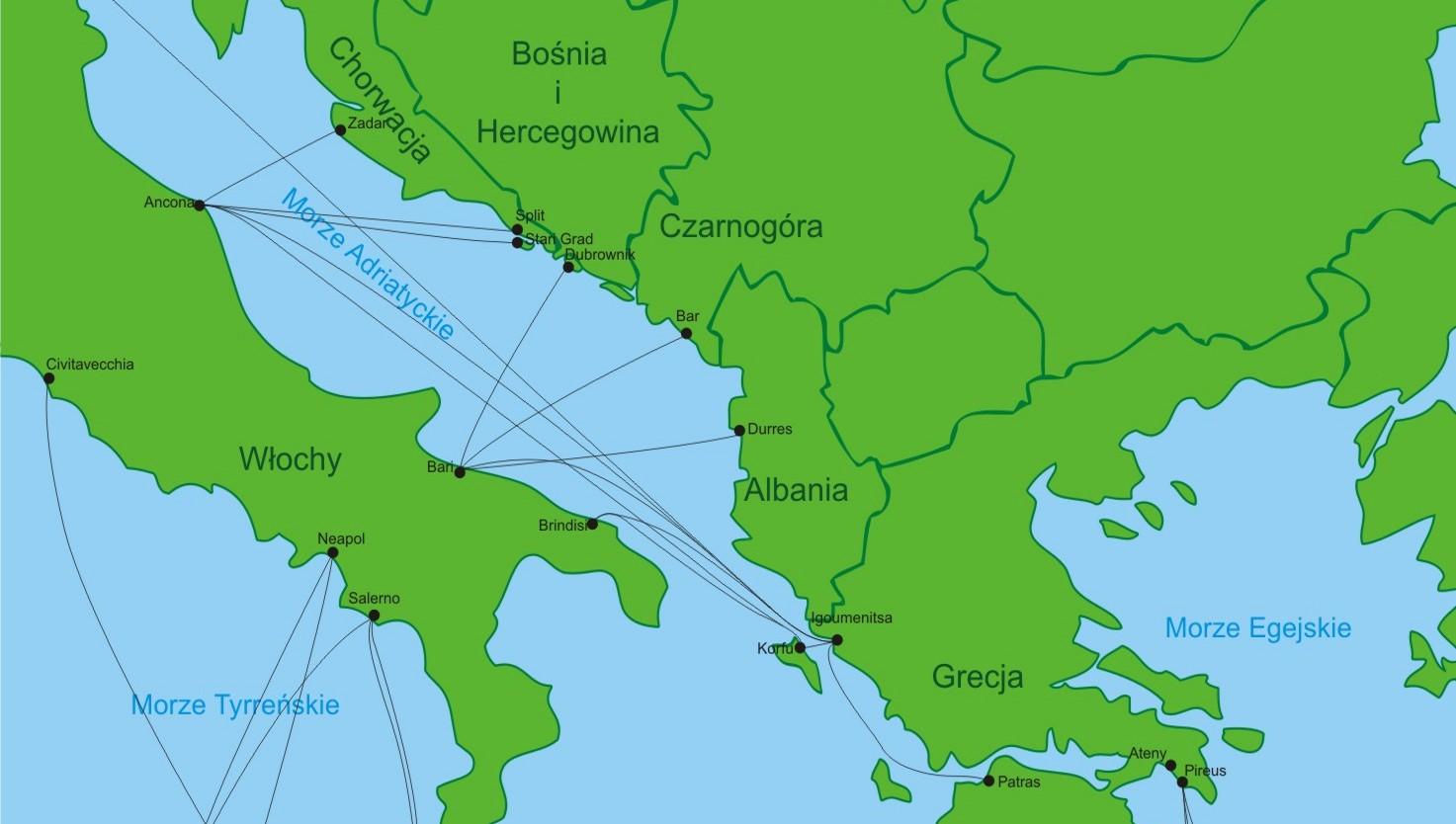 Bilety do Chorwacji, Grecji